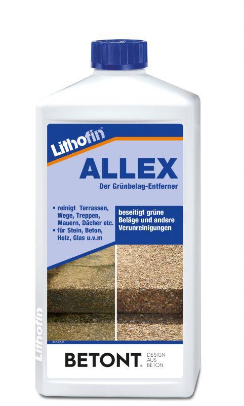 Lithofin ALLEX - Der Grünbelag-Entferner